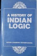A History of Indian Logic Vidyabhusana, S. C.