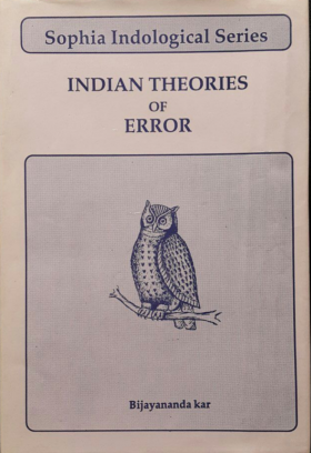 Indian Theories of Error Kar, Bijayananda